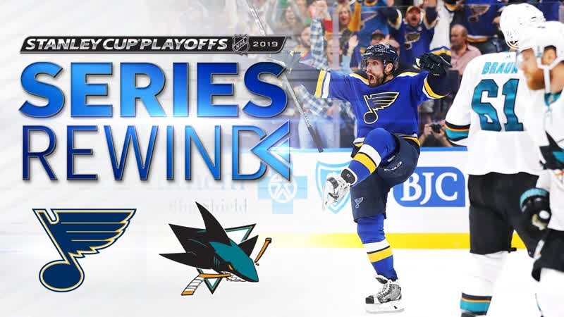 SERIES REWIND Blues dispatch Sharks in six to clinch Stanley Cup Final berth