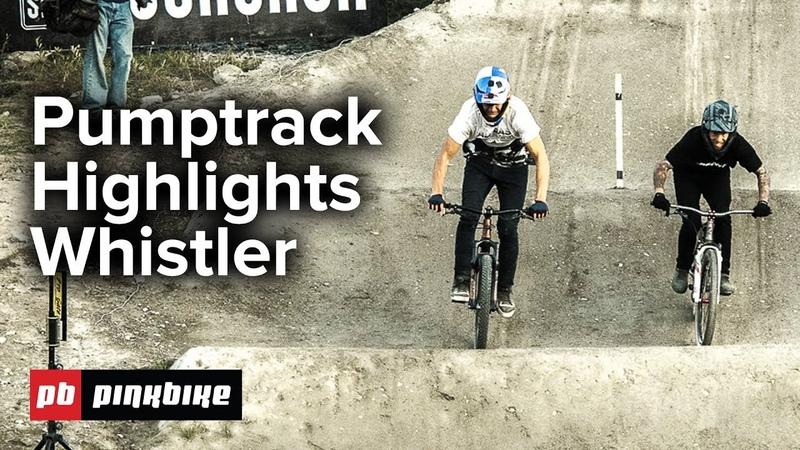 Pumptrack FULL Highlights | Whistler Crankworx 2018
