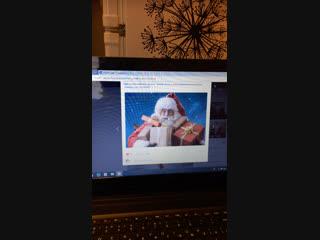 Новогодний розыгрыш от Деда Мороза и Снегурочки