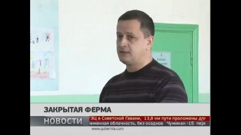 Закрытая ферма. Новости. GuberniaTV