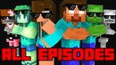 Monster School All Episodes Season 1 4 full Minecraft Animation