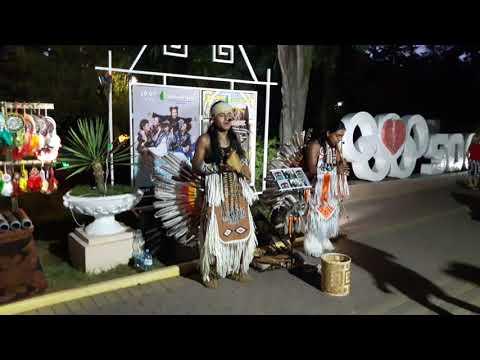 Индейцы в Сочи парк Ривьера 2017г