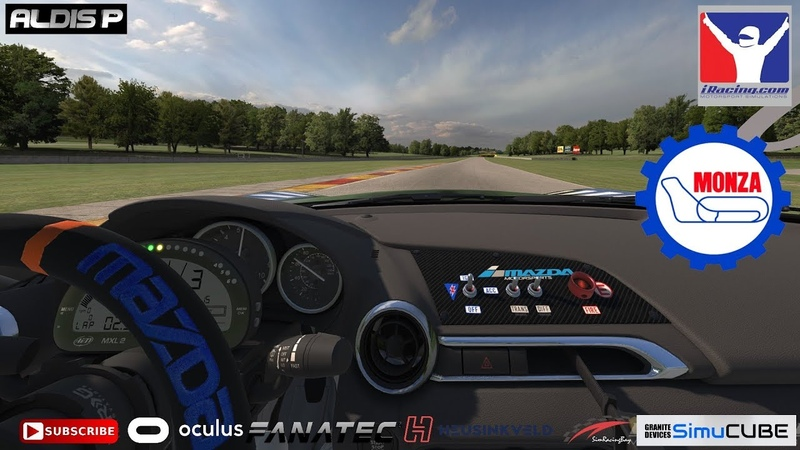 IRacing, Advanced Mazda MX-5 Cup Series, MONZA