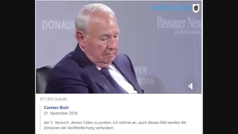 21.11.2018, carsten buhl migrations-video, ständig zensur-gelöscht?