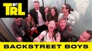 Backstreet Boys Surprise Fans w/ 'I Want It That Way' 'As Long As You Love Me' Sing-A-Longs | TRL