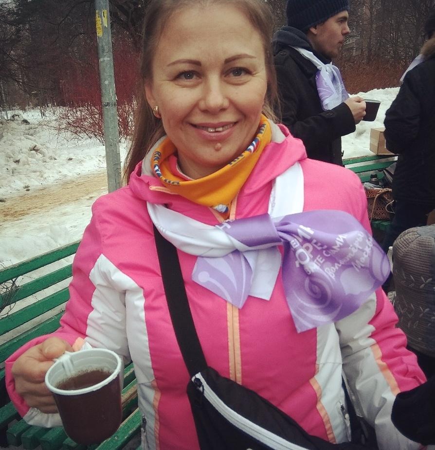 Наталья Кузнецова - инструктор по скандинавской ходьбе
