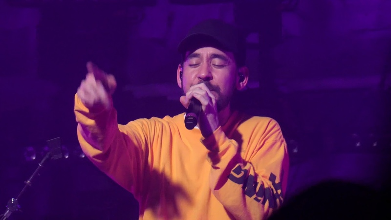 Mike Shinoda - Lift Off (w Step Up, High Voltage Hands Held High) live Luxembourg (2019.03.23) 4K