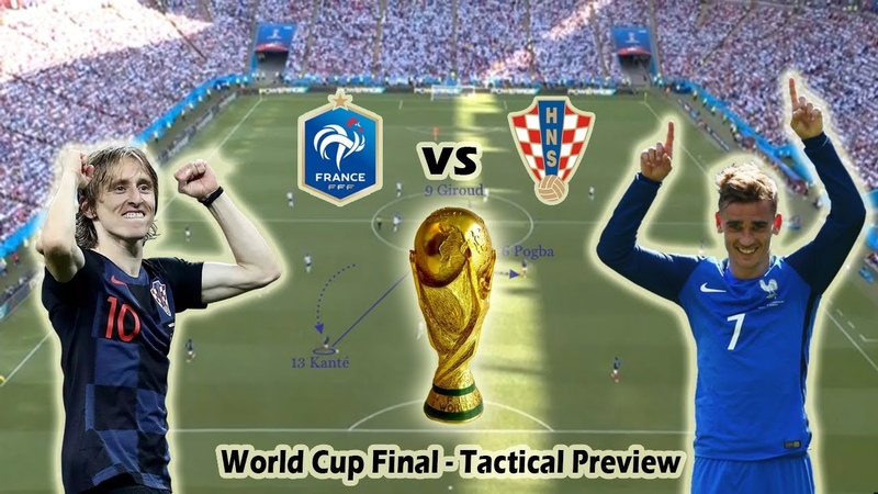 France vs Croatia   Tactical Preview   World Cup Final