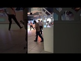 Confirmed This video of a man on fire DID NOT happen at Dubai Mall