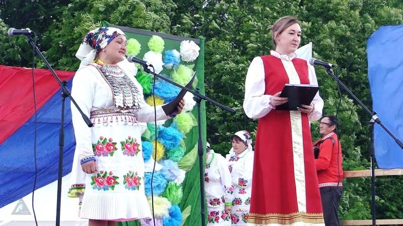 Концерт фольклорных коллективов Муралтена кушталтена 10 06 2018 г