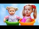 Diana Pretend Play Babysitting Cry Baby Dolls Nursery Playset Girl Toys