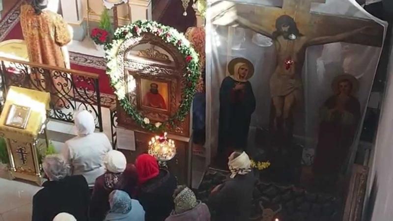 Жители Узденщины торжественно почтили память своего небесного покровителя - сщмч. Михаила Новицкого