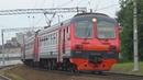 Электропоезд ЭД4МК 0073 с рейсом Голицыно Икша
