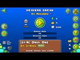 Geometry Dash-Heavens Break By MegaBro (Me)