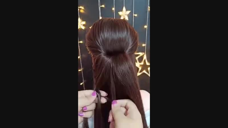 Crafts - Easy Hair Style for Long Hair.mp4