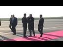 Video Iraq Iranian Parliment Speaker Ali Larijani arrives amid crisis