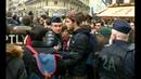 В Париже скачут студенты и лицеисты : Кто не с нами - тот Макрон Клонирование Майдана по-киевски