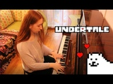 Undertale OST - Once Upon a Time (Piano Cover by булочка)