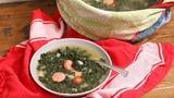 Caldo Verde (Portuguese Green Soup) Ep 1319