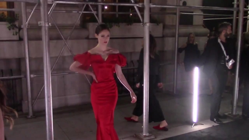 Coco Rocha spotted outside The Plaza Hotel in New York City