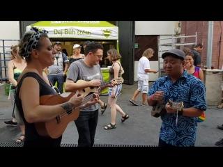 Czech Ukulele Festival 2018 | Andy Eastwood, Jodi Kamisato и Mersey Belles джем