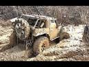 Crazy Russian Jeep Off-Road 4x4 Mud Spa 2018