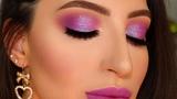 New Years Eve Makeup Tutorial Purple Smokey Eyes + Shimmer Melissa Samways