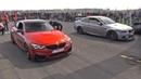 600HP BMW M4 F82 PURE TURBOS vs 630HP G-POWER BMW M3 E92 V8