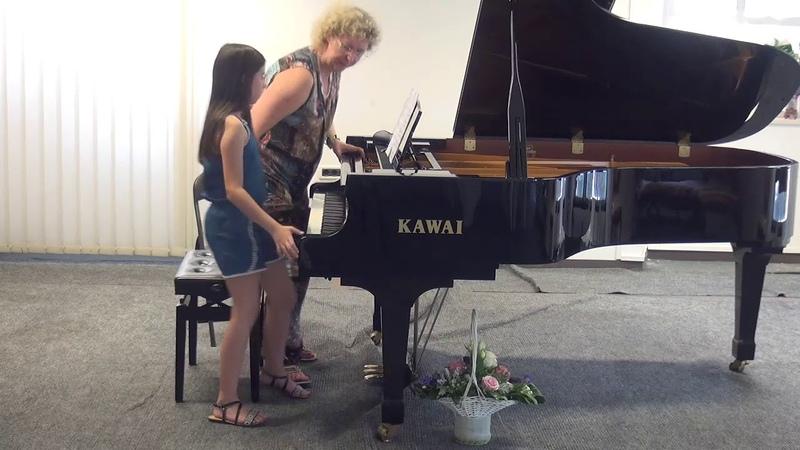 10.07.2018 Mira Marchenkos master-classes. Marija Žderić. Concert Hall, Trogir, Croatia