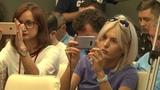 Пресс-конференция SkyUp Airlines и ФК Шахтер из Международного аэропорта Киев