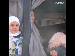 При эвакуации жителей из городов #Fuah и #Kafraya постродало около 200 человек. Автобусы по дороге забрасывали камнями.