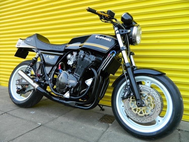Butchered Classics: кастом Kawasaki Z1000H