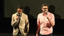 Taika Waititi and Jemaine Clement at 48HOURS NZ Grand Final 2014