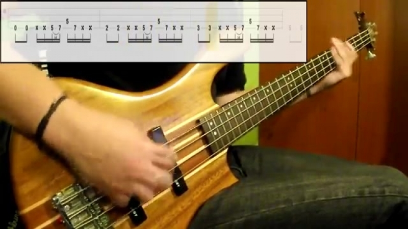 Tool - The Pot (Bass Cover) (Play Along Tabs In Video)