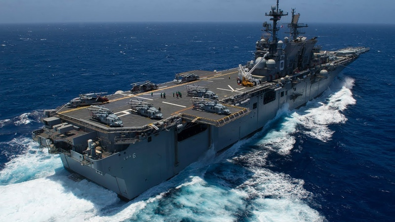 America's newest carrying F 35B amphibious assault ship to replace USS Wasp in Japan