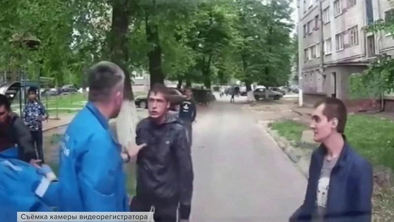 ВЧувашии расследуют вопиющее нападение набригаду скорой помощи Новости Первый канал