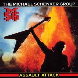 Michael Schenker Group альбом Assault Attack