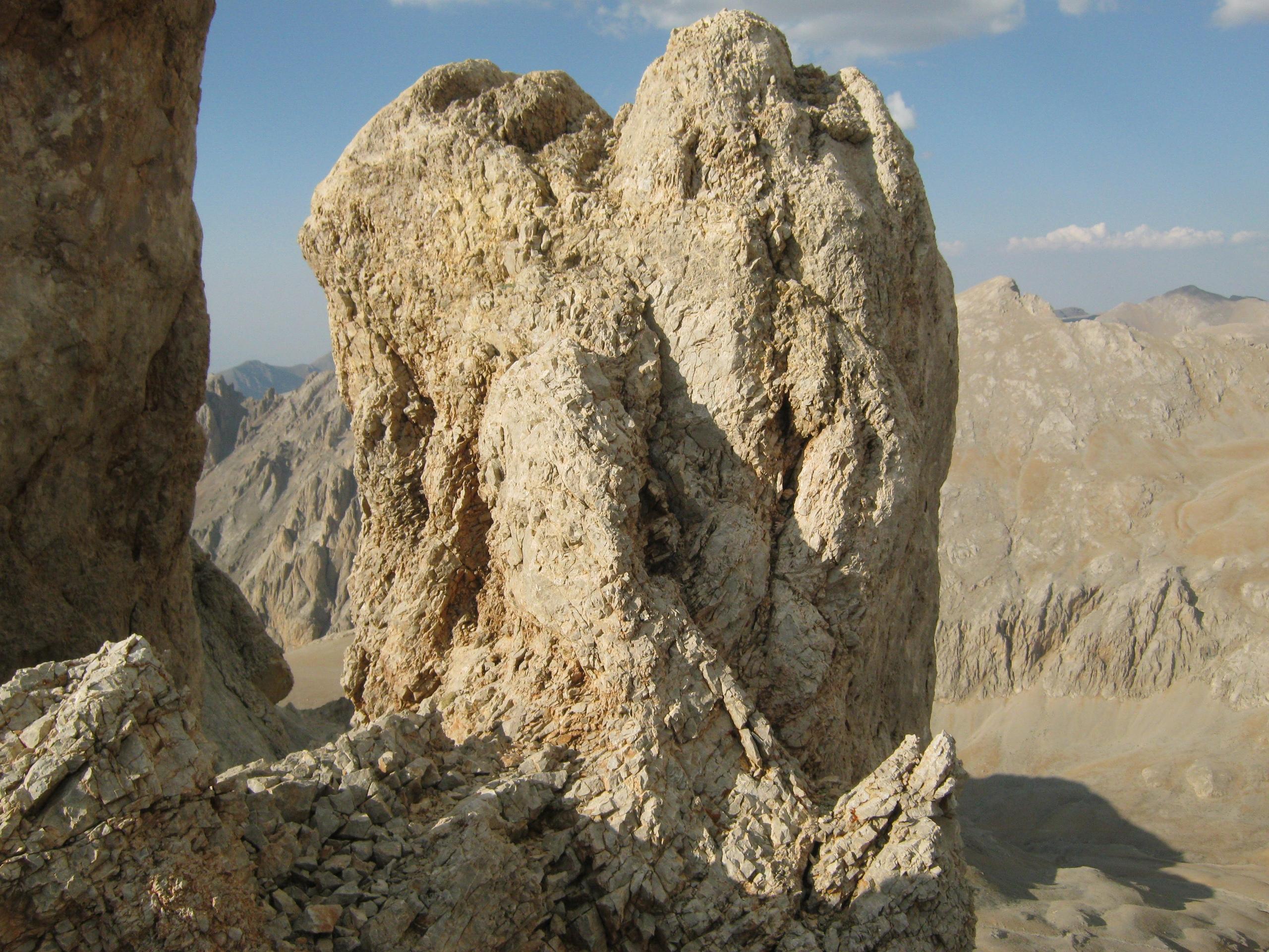 Вид с горы Демирказик