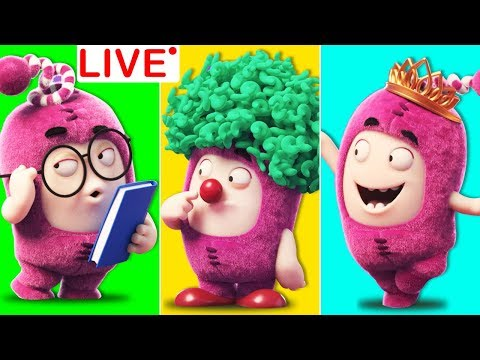 Oddbods Overload All NEW Episodes 🔴LIVE Funny Cartoons For Kids by Vidavoo