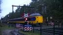 Spoorwegovergang Apeldoorn Dutch railroad crossing