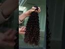 Brazilian human Hair Extension Jerry Curl Remy Hair Bundles 100% remy human hair weft