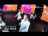 181011 (G)I-DLE - Ending Finale Self Camera KCON2018TH x M2 @ Other