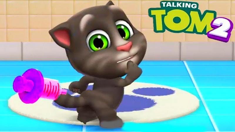 Мой Говорящий Том 2 НОВАЯ ИГРА 7 Друзья Анджела Хомяк My Talking Tom 2 Игровой мультик для детей