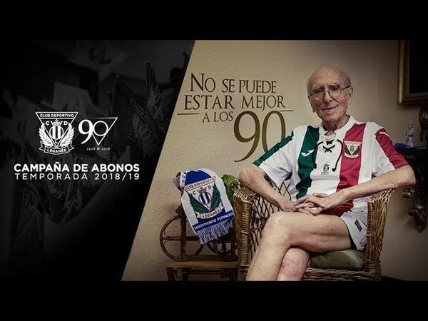 Campaña de abonos 201819. NoSePuedeEstarMejorALos90