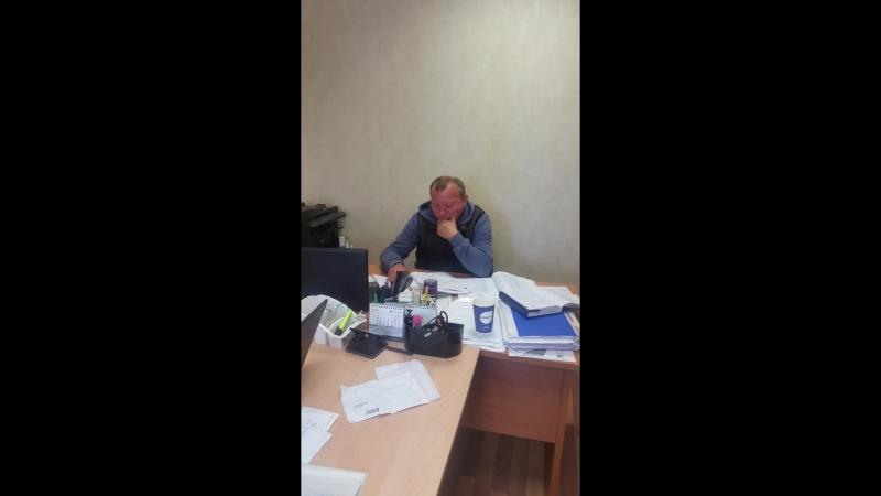 Нацгвардия Низино начальник стройки (помойка)