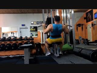 Легенькая тренировочка))Единственное что помогает мне справиться со стрессом