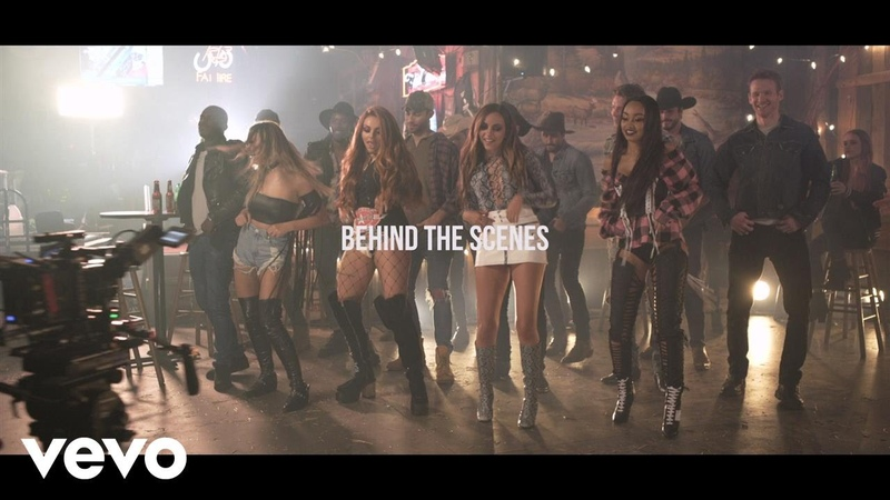 Little Mix No More Sad Songs Behind the Scenes ft Machine Gun Kelly