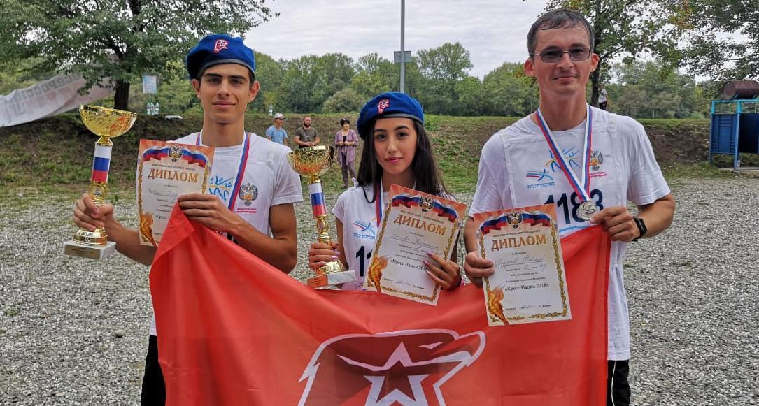 Юнармейцы из Зеленчуккского района призеры «Кросса Нации»