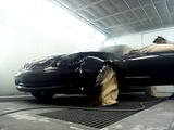 Mercedes clk painting with Spies Hecker 197+Duxone 1048 voc clear