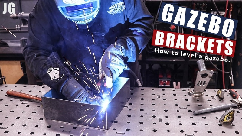 Metal Gazebo Brackets | JIMBO'S GARAGE